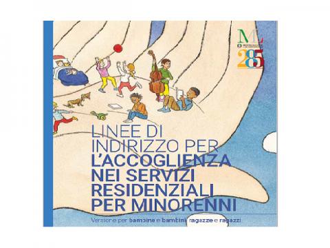 Linee di indirizzo per l'accoglienza nei servizi residenziali