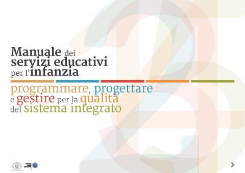 Manuale dei servizi educativi per l'infanzia - 2016