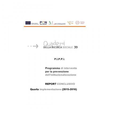 PIPPI rapporto conclusivo 2015-2016