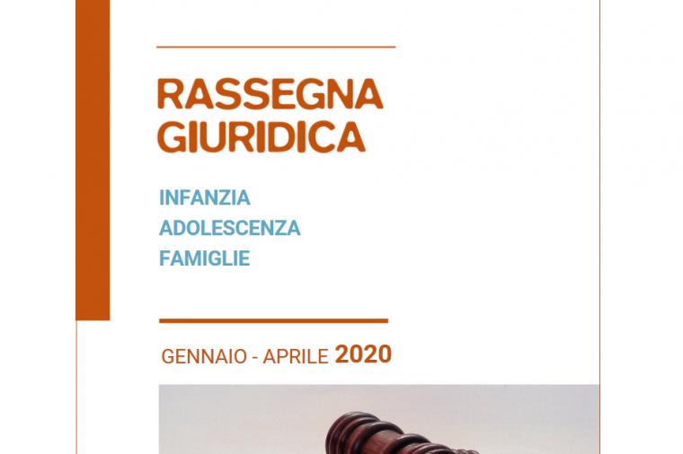 Rassegna giuridica gennaio aprile 2020