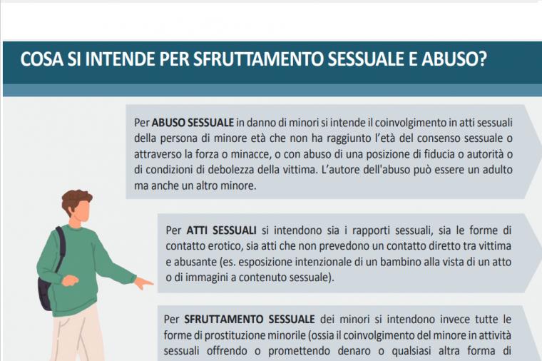 Abuso e sfruttamento sessuale